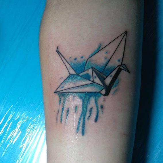 Origami Tattoo 19