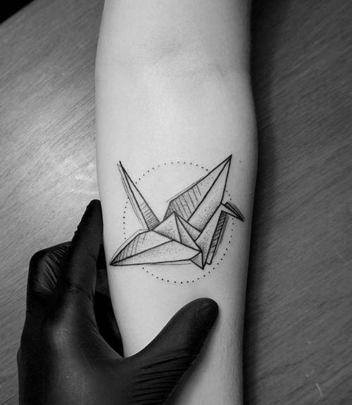 Origami Tattoo 20