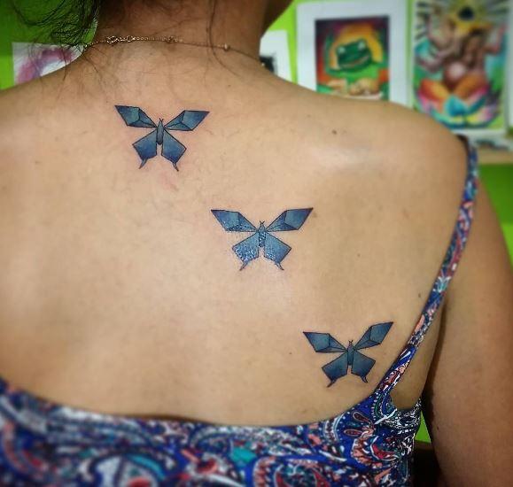 Origami Tattoo 24