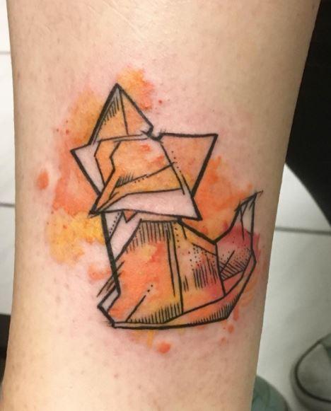 Origami Tattoo 28