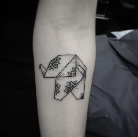 Origami Tattoo 29