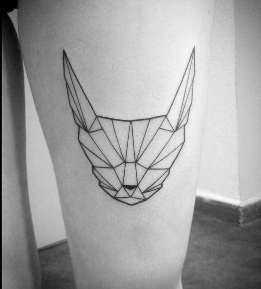 Origami Tattoo 3
