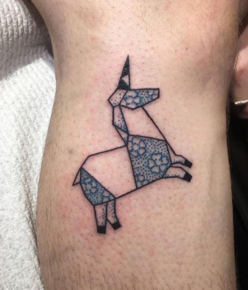 Origami Tattoo 32