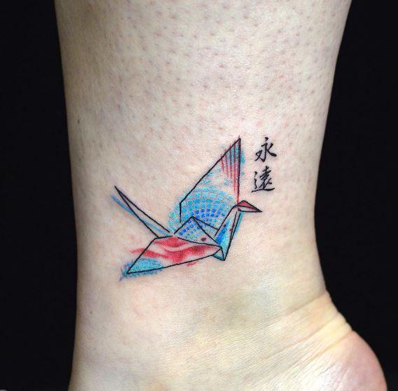 Origami Tattoo 37