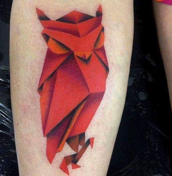 Origami Tattoo 38