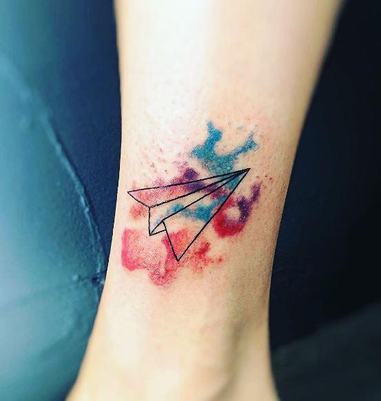 Origami Tattoo 39