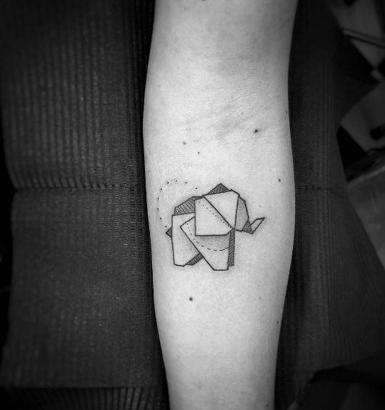 Origami Tattoo 40