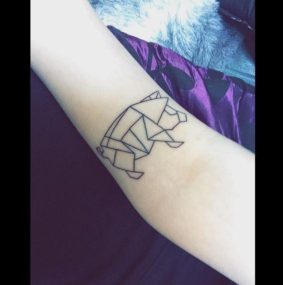 Origami Tattoo 42