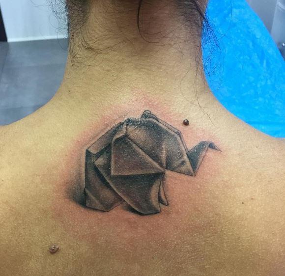 Origami Tattoo 44