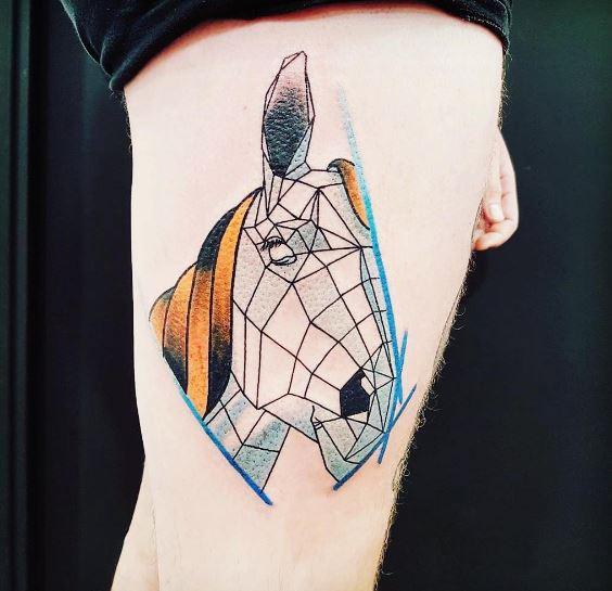 Origami Tattoo 46