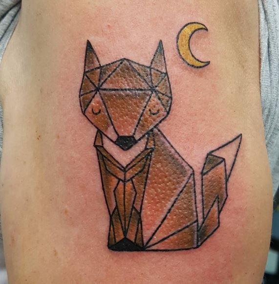 Origami Tattoo 47