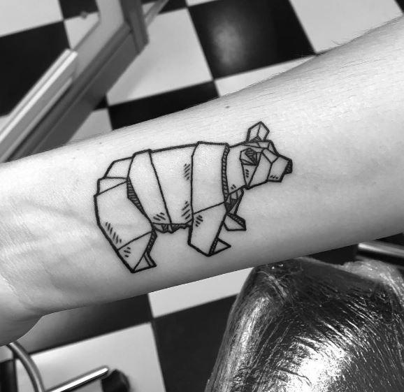 Origami Tattoo 49