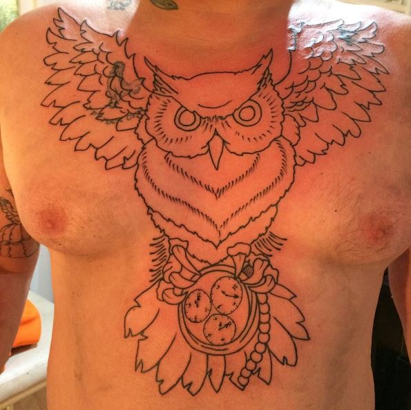 Owl And Pocket Watch Tattoo Meaning