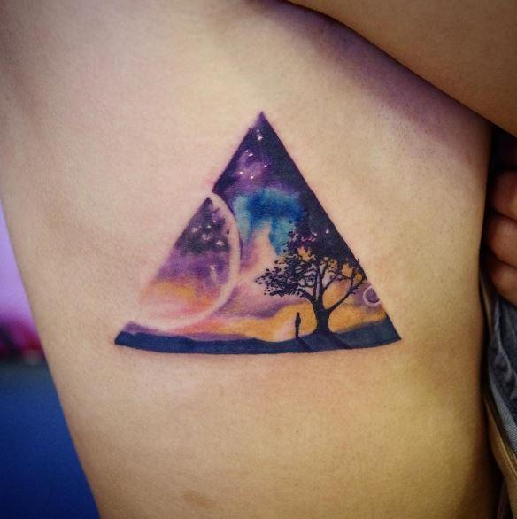 Planet Tattoos Design For Women