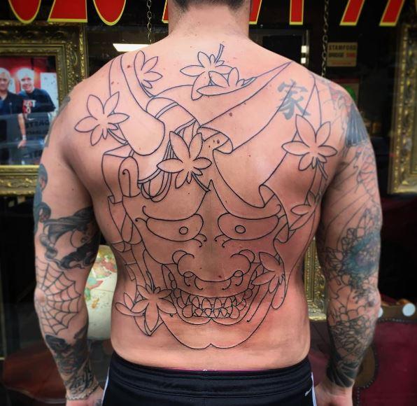 Simple Full Back Tattoos Design And Ideas