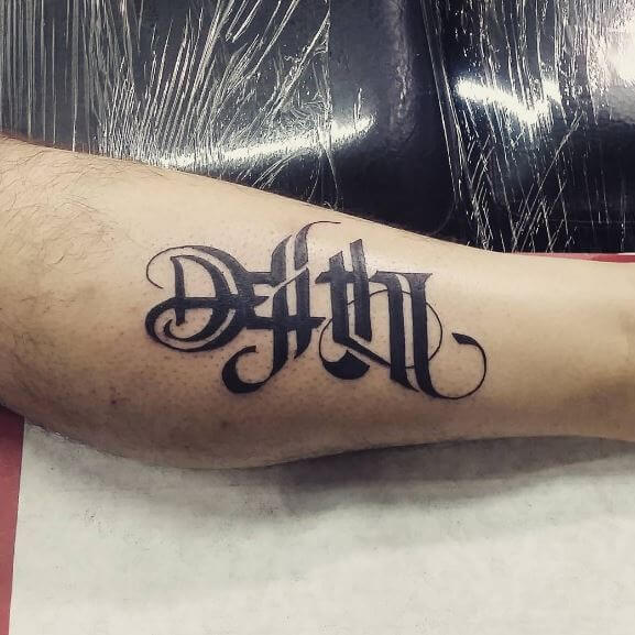 Small Ambigram Tattoos Design And Ideas