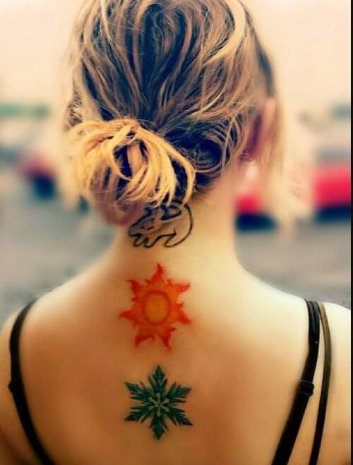 Sun Tattoos Design And Ideas For Girls