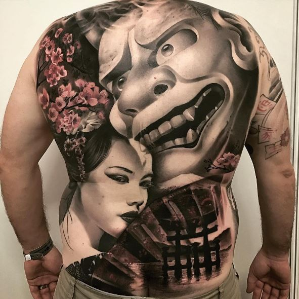 Top Full Back Tattoos Design And Ideas