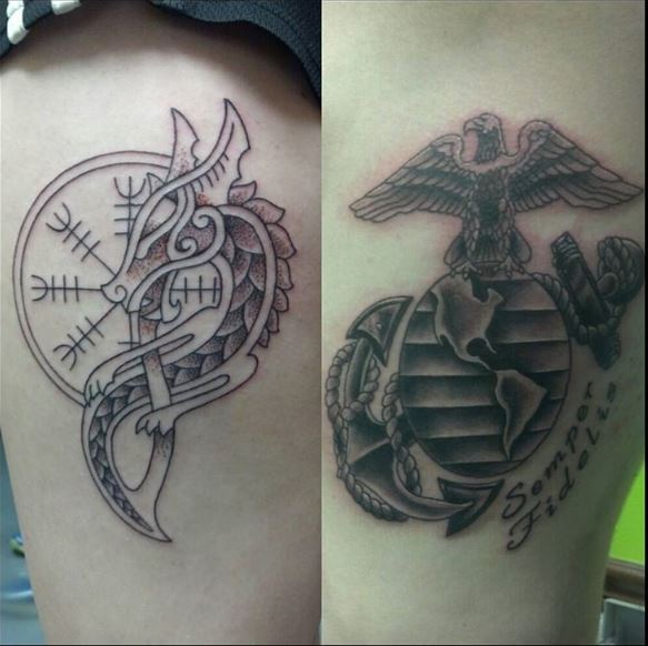 Top Marine Corps Tattoos Design And Ideas For Boys