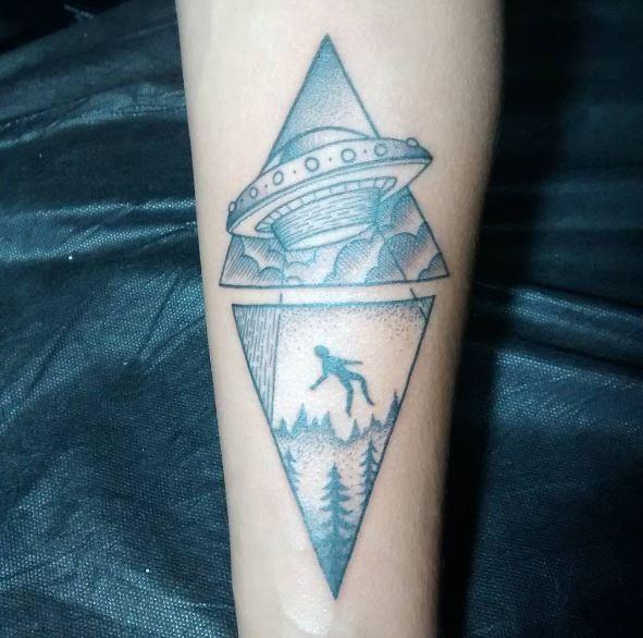 Ufo Over Edinburgh Tattoo