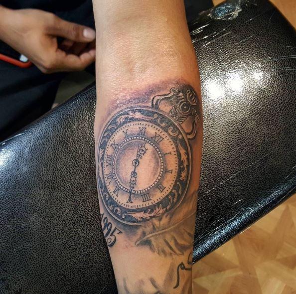 Unique Watch Tattoos