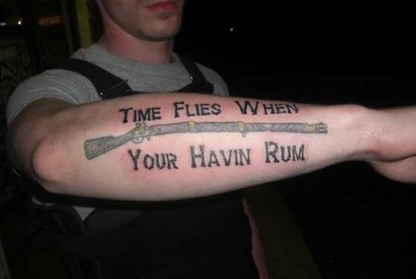 Worst Forearm Tattoos