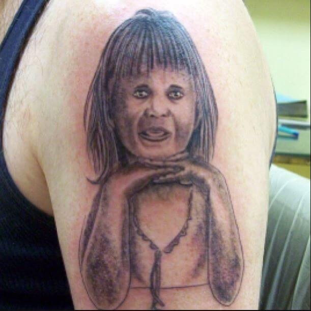 Worst Portrait Tattoos Ideas