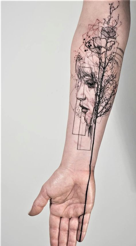 Abstract Geometric Tattoos (11)