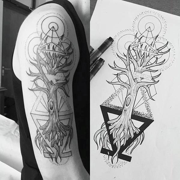 Abstract Geometric Tattoos (5)