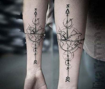 Abstract Geometric Tattoos (6)