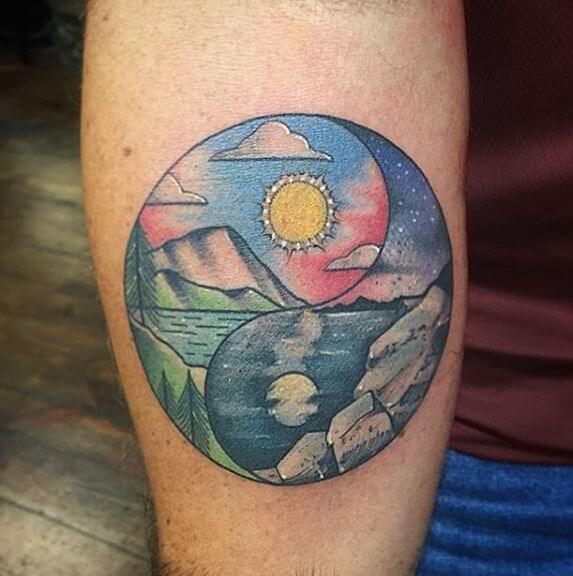Awesome Yin Yang Tattoos