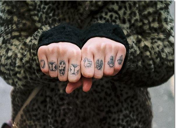 Bad Finger Tattoos