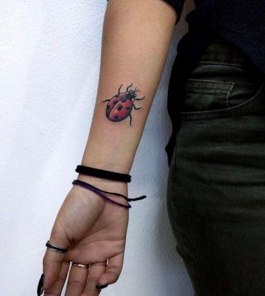 Best Ladybug Tattoos