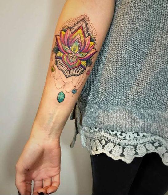 Best Magical Lotus Flower Tattoos