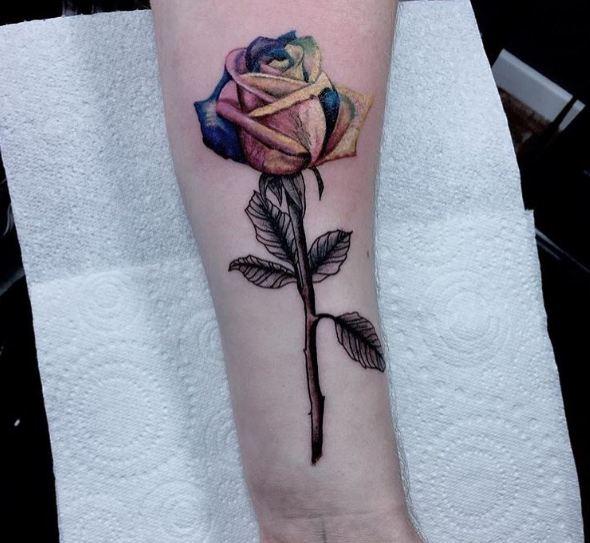 Best Rose Tattoos For Girls
