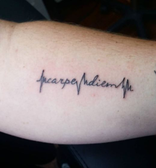 Carpe Diem Fonts Tattoos