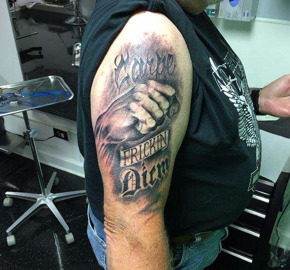 Carpe Diem Tattoos For Guys