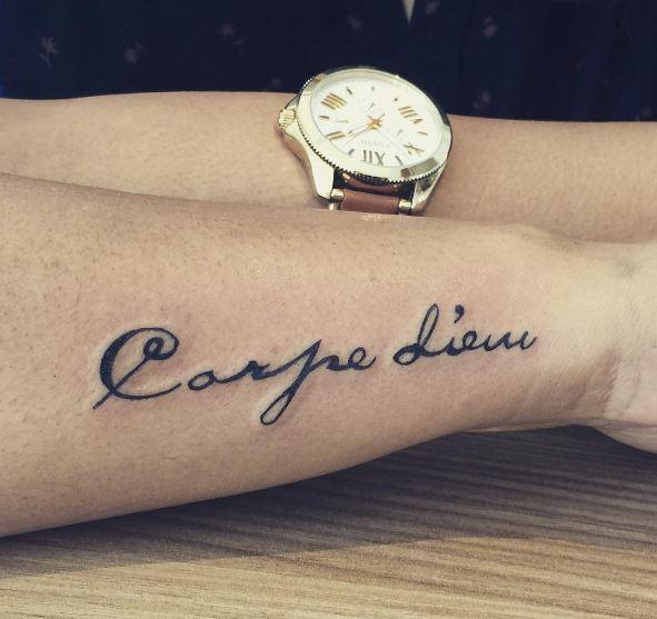Carpe Diem Tattoos For Men