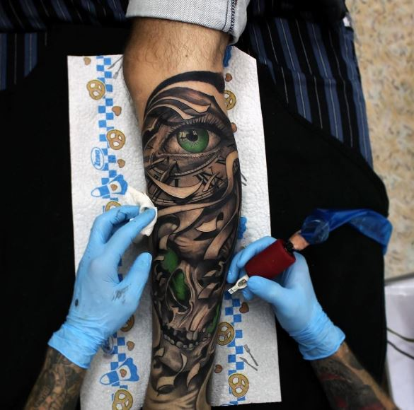 Crazy 3d Tattoos