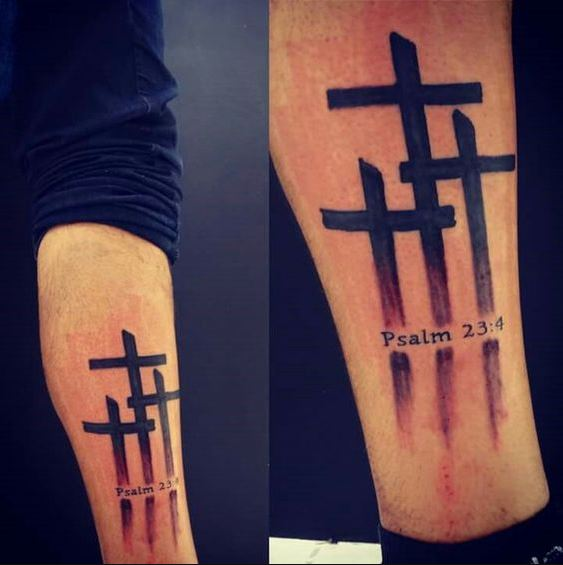 Cross Tatoos For Men