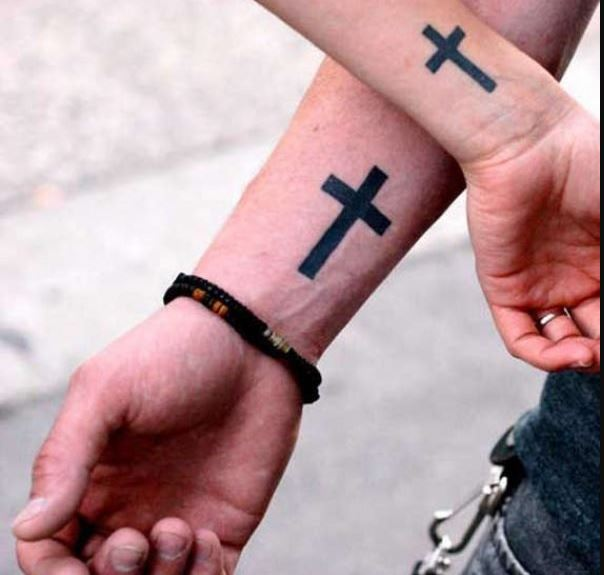 Cross Wrist Tattoos