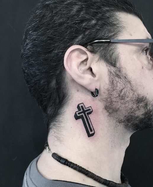 Cute Cross Tattoos