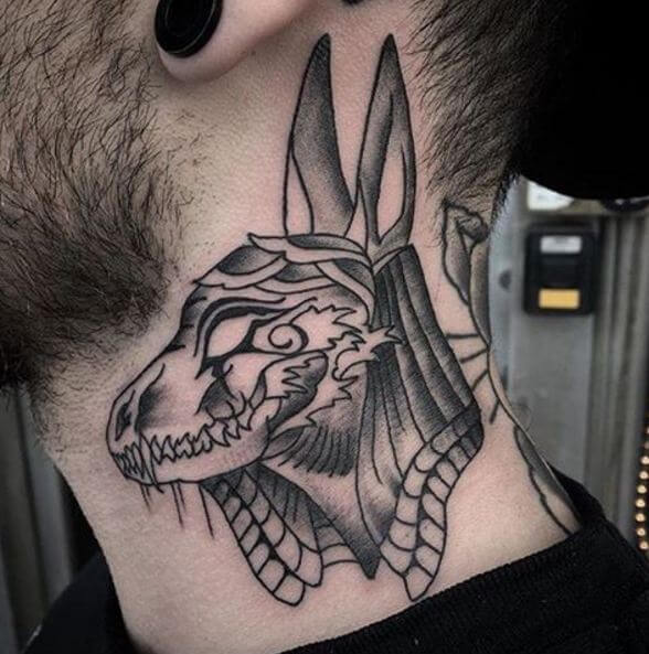 Egyptian Anubis Tattoos