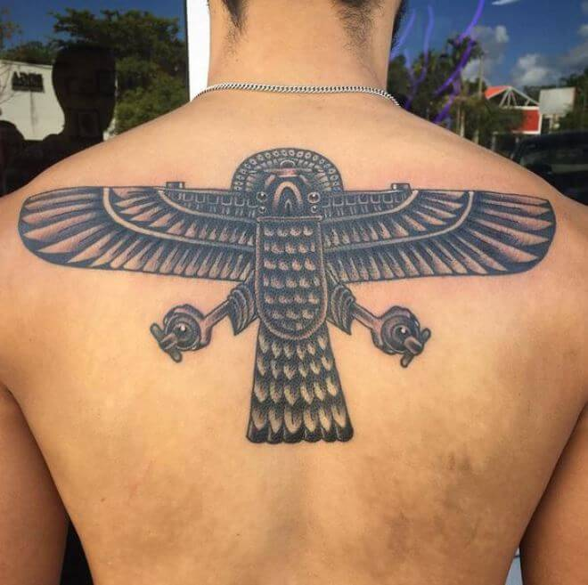 Egyptian Falcon Tattoos