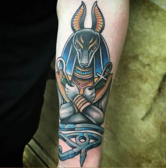 Egyptian God Tattoos Designs
