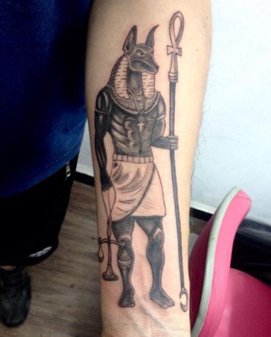 Egyptian Gods Tattoo