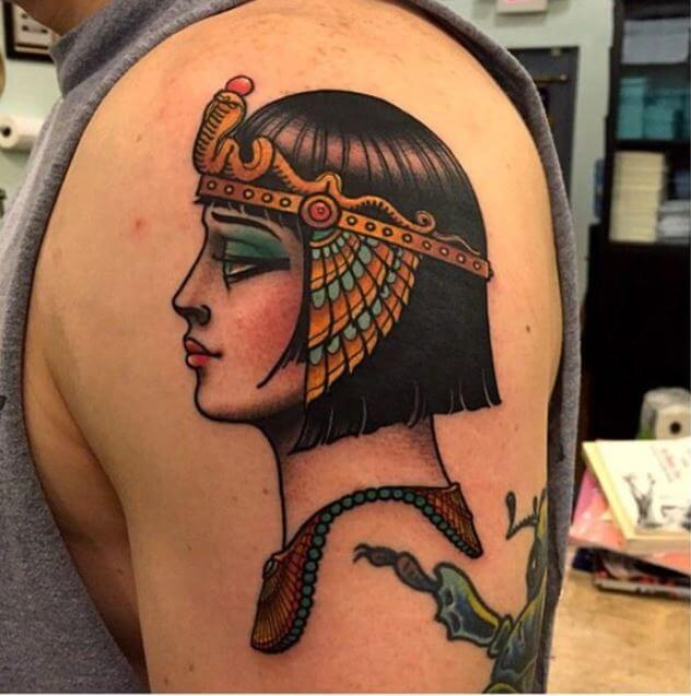 Egyptian Hal Sleeve Tattoos Designs