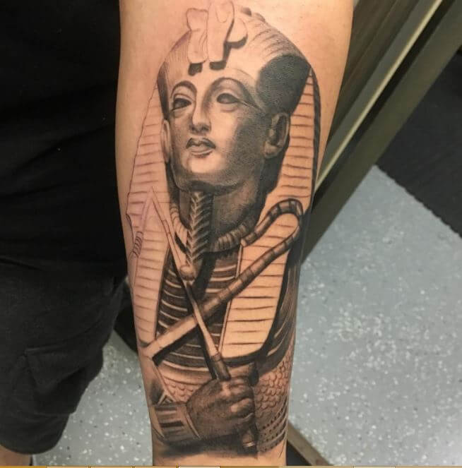 Egyptian King Tattoo
