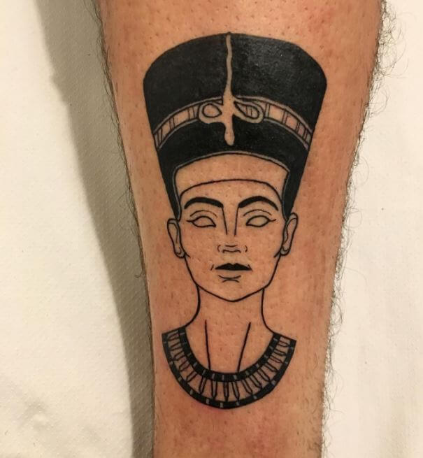 Egyptian Leg Tattoos