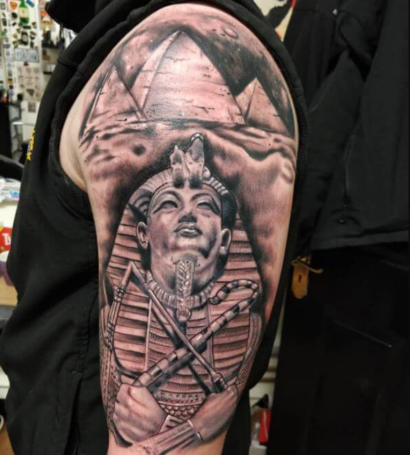 Egyptian Pharaohs Tattoos